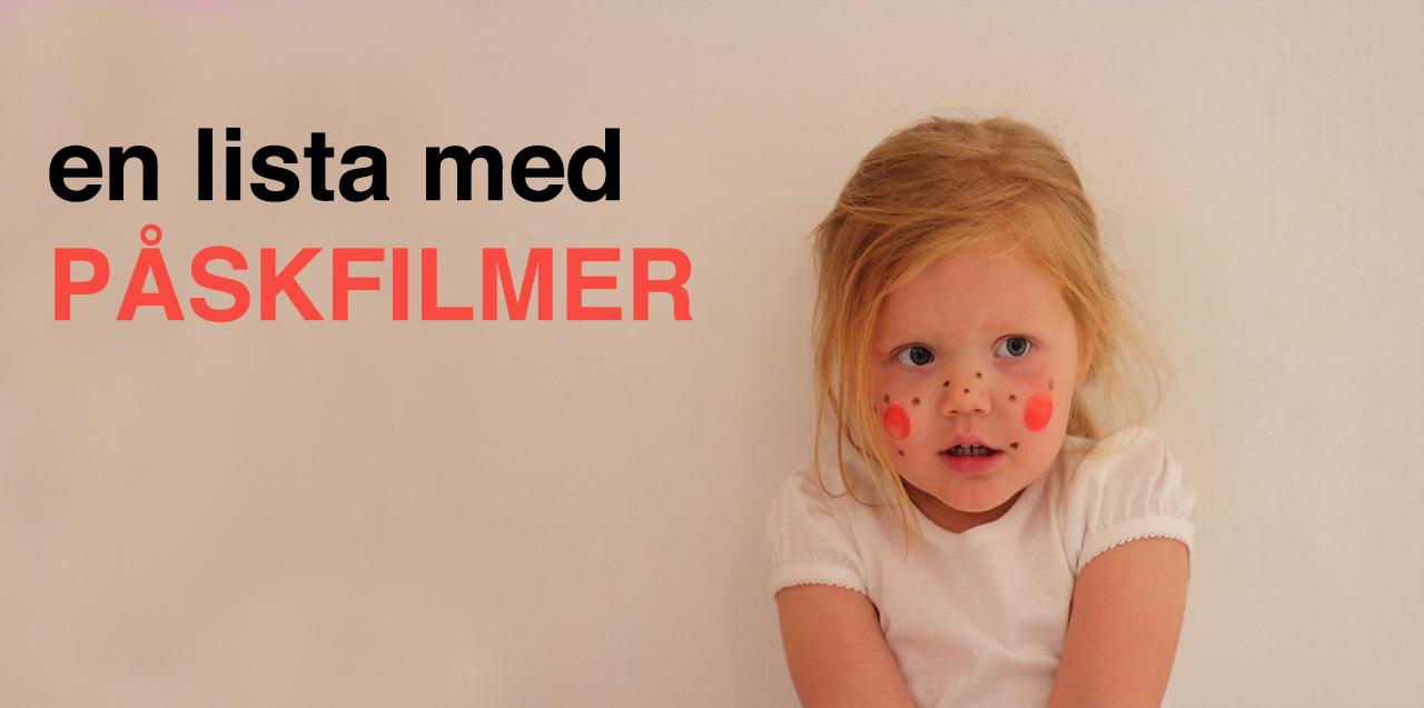 Lista på påskfilmer för barn och vuxna