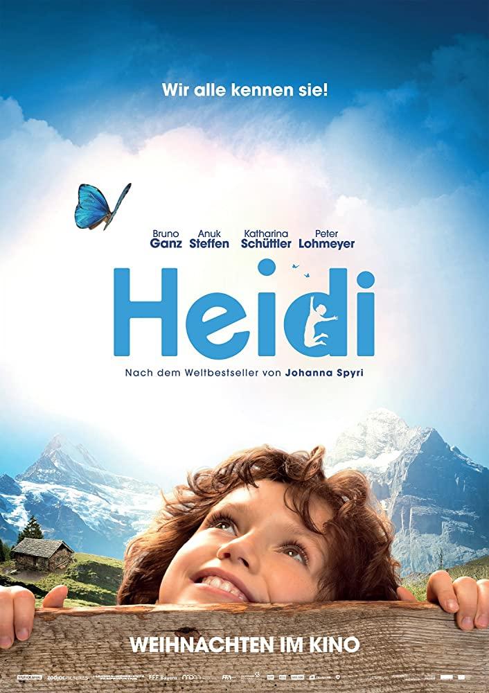 Flickan i den schweiziska filmen Heidi.