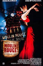 Filmen Moulin Rouge från 2001