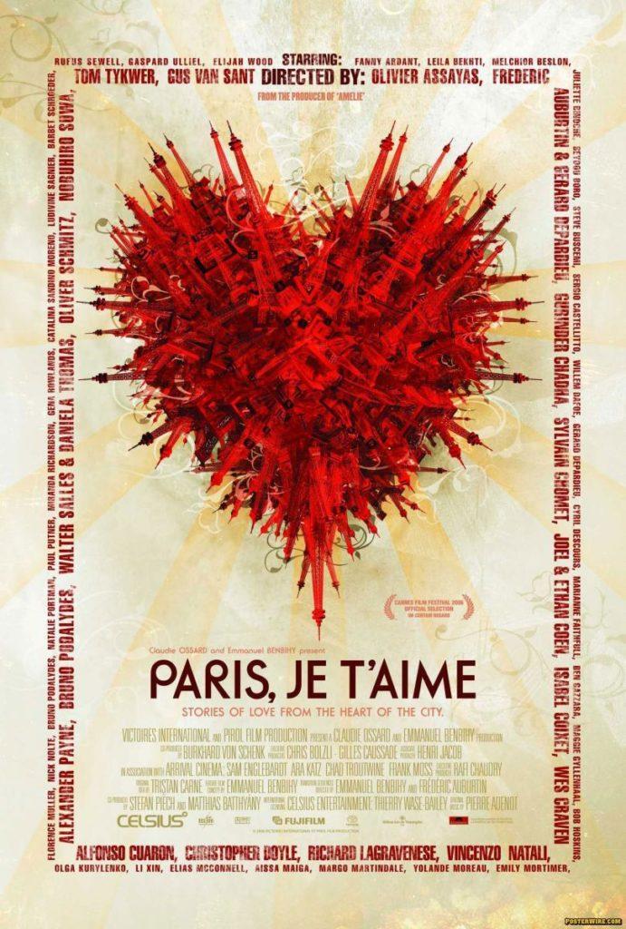 Paris I love you. Paris je t'aime. Film.