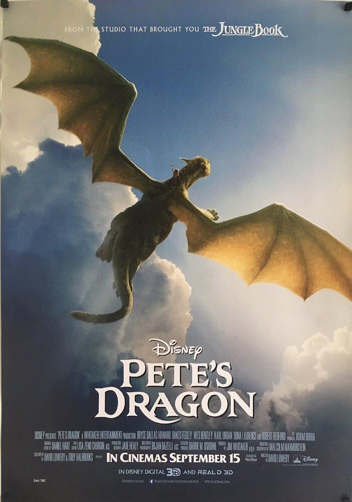 Petes Dragon. Peter och draken Elliott.