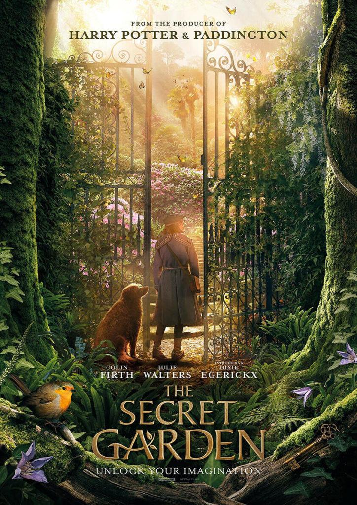 The Secret Garden. Den hemlighetsfulla trädgården.