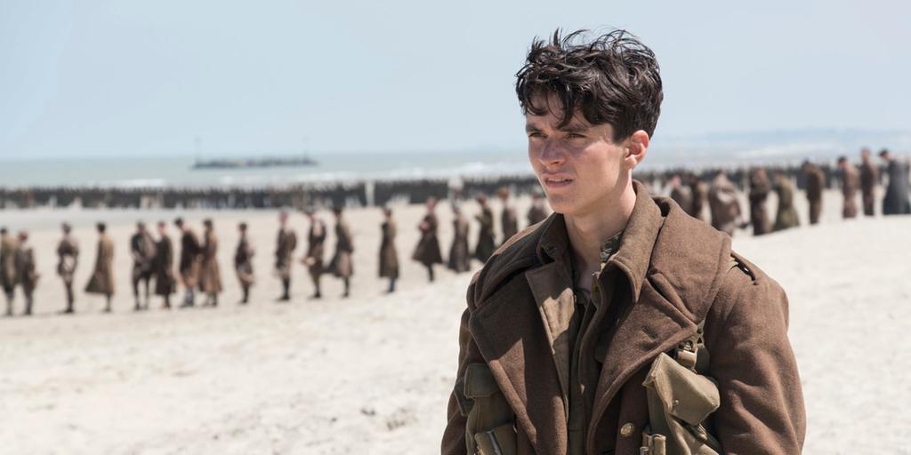 Dunkirk. Film från 2017 om Andra världskriget.
