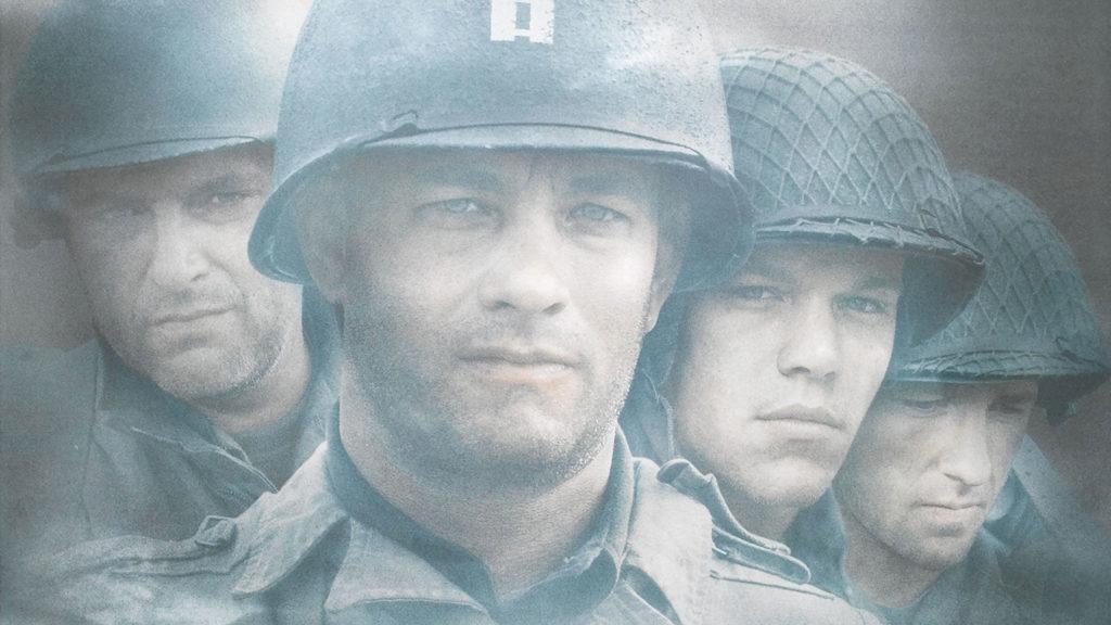 Rädda menige Ryan. Saving Private Ryan. Utspelar sig under Andra världskriget.