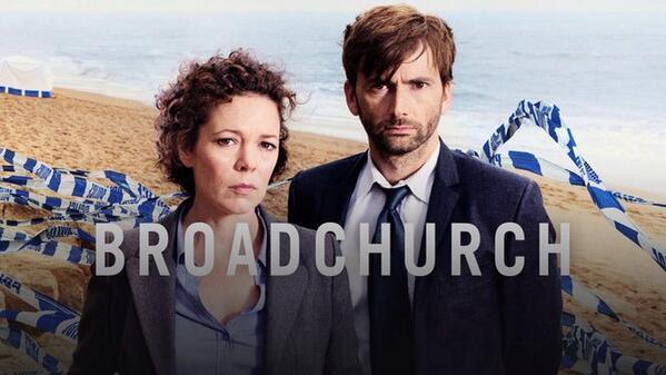 Broadchurch. Brittisk teveserie.