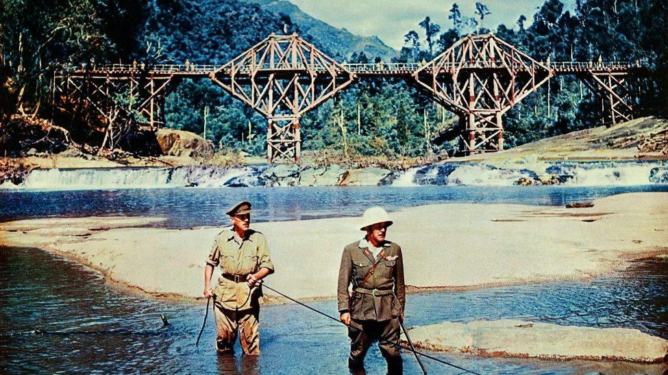 Bron över floden Kwai. En klassisk film från Andra världskriget i Asien