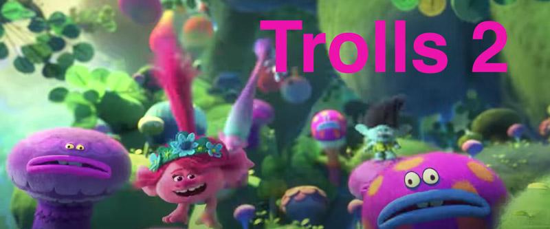 Hyra filmen Trolls 2