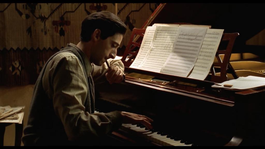 Pianisten. The Pianist. Film. Andra världskriget.