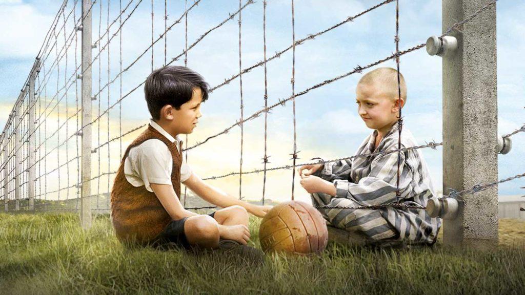 Pojken i randig pyjamas. Film. Andra världskriget.