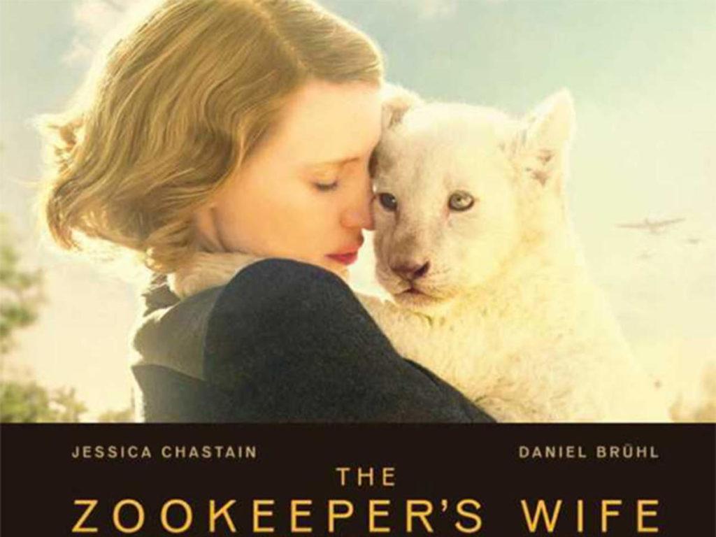 The Zookeepers Wife som utspelar sig under andra världskriget