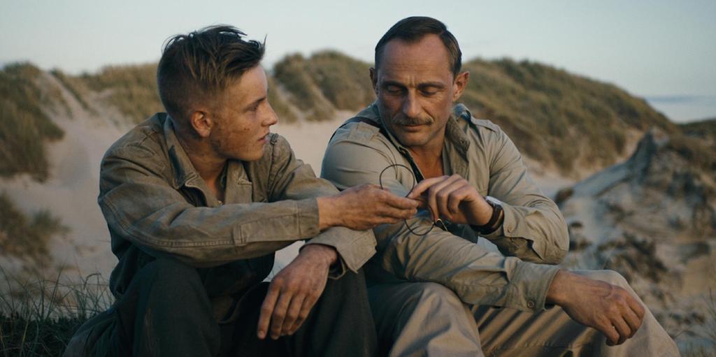 Under sanden. Film. Andra världskriget.