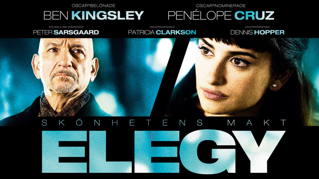 Ben Kingsley och Penelope Cruz i filmen Elegy - Skönhetens makt.
