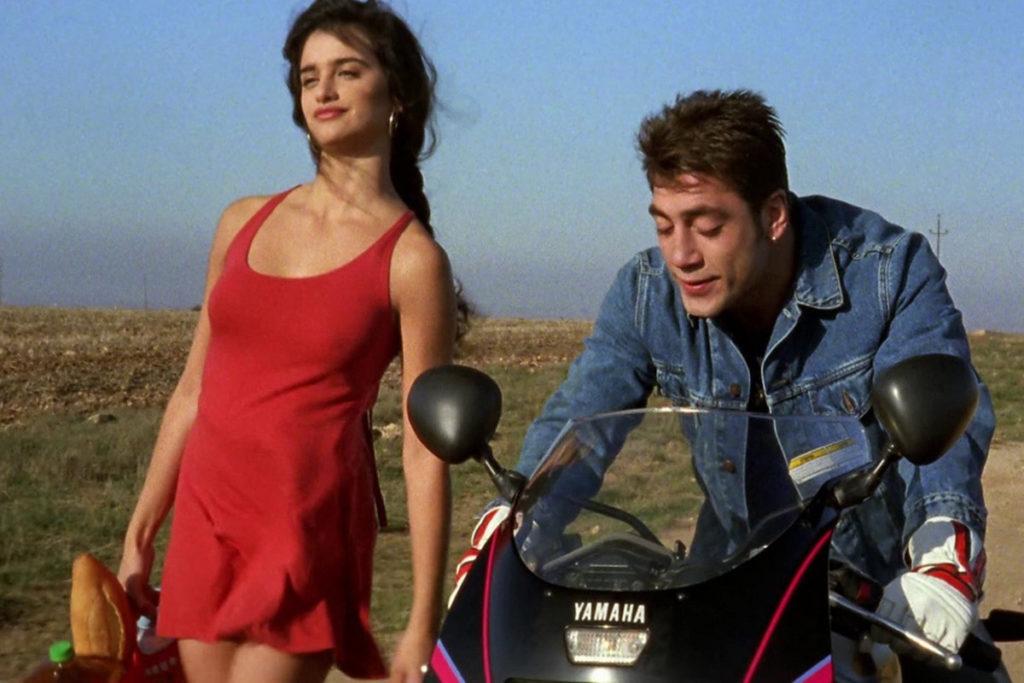 Penelope Cruz och Javier Bardem i filmen Jamon Jamon.