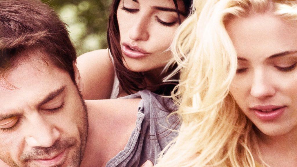 Javier Bardem, Penelope Cruz och Scarlett Johansson i filmen Vicky Cristina Barcelona.
