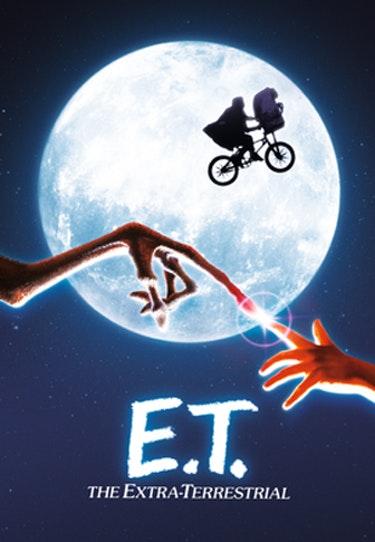 Filmen E.T - The Extra Terrestrial.