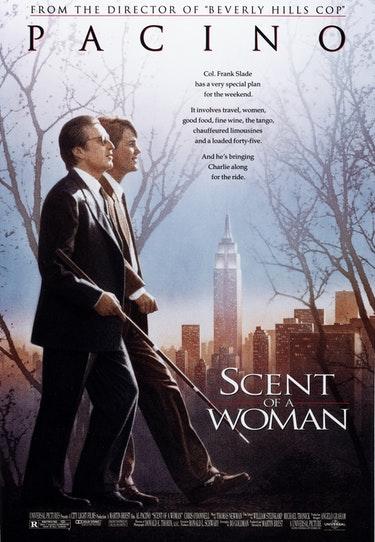 Filmen En kvinnas doft med Al Pacino och Chris O'Donnell.