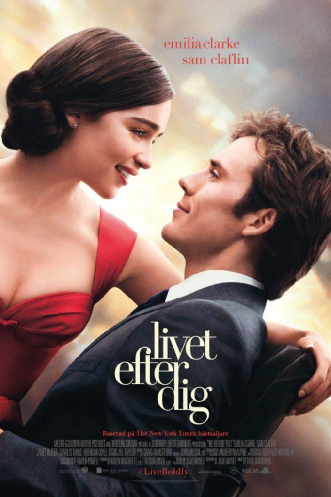 Filmen Livet efter dig med Emilia Clarke och Sam Claflin.