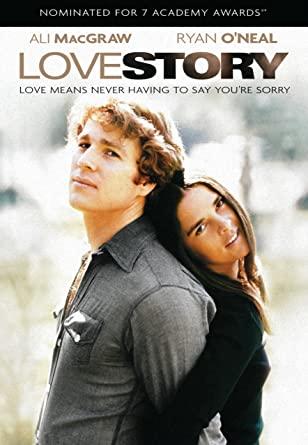 Filmen Love Story med Ali MacGraw och Ryan O'Neal.