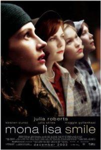 Mona Lisas Leende (Mona LIsa Smile. Film Med Julia Roberts, Maggie Gyllenhaal och Kirsten Dunst.