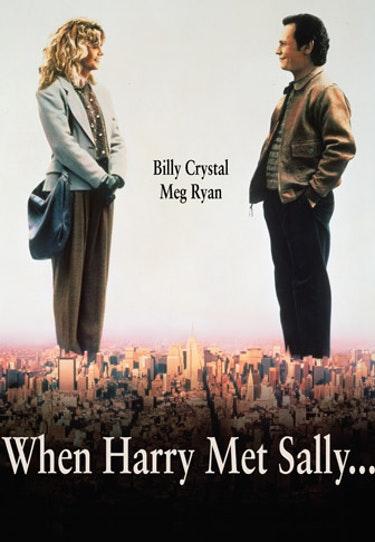Filmen när Harry mötte Sally med Meg Ryan och Billy Crystal.