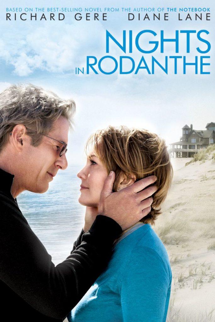 Nights in Rodanthe (Nätterna vid havet. Film med Diane Lane och Richard Gere.