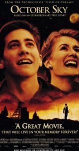 Filmen October Sky med Jake Gyllenhaal och Laura Dern.