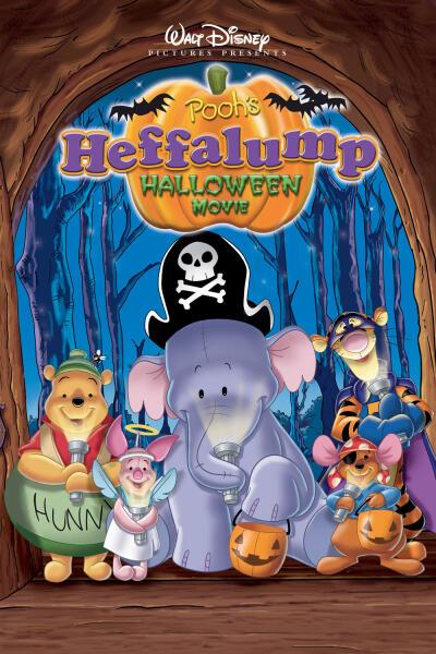 Barnfilmen Puhs Heffaklump Halloween