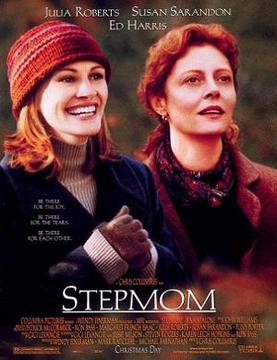 Filmen Stepmom (Vid din sida) med Susan Sarandon, Julia Roberts och Ed Harris i rollerna.