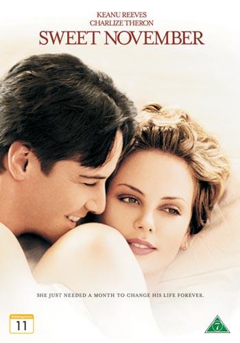 Filmen Ljuva November (Sweet November) med Charlize Theron och Keanu Reeves.