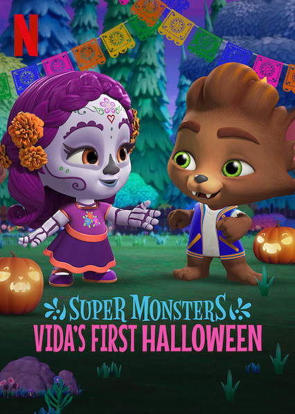 Vidas första Halloween. Ett avsnitt med Minimonstren.