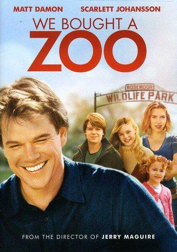 Filmen En ny start (We bougt a zoo) med Matt Damon och Scarlett Johansson.