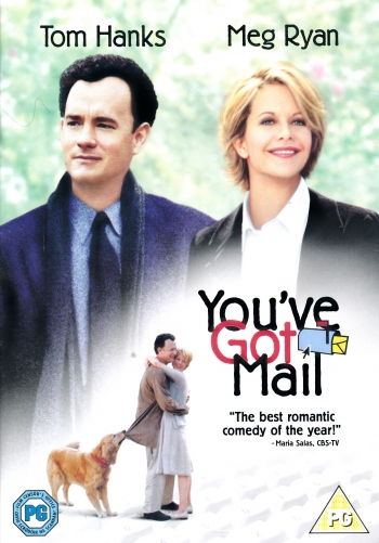 Filmen Du har mail (You've got mail) med Meg Ryan och Tom Hanks.
