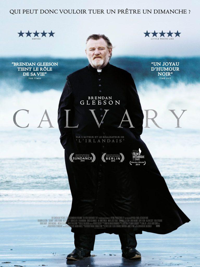 Filmen Calvary handlar om en irländsk präst som under bikt utsetts för dödshot.