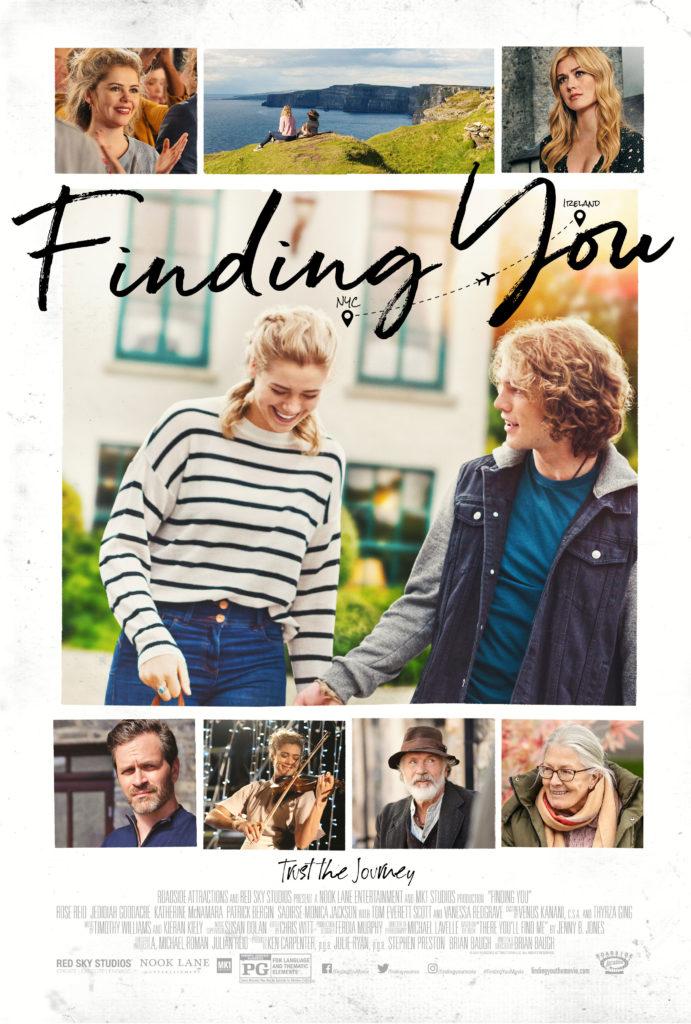 Filmen Finding You (2021) utspelar sig på Irland.
