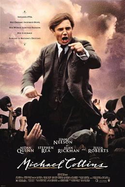 Filmen om Michael Collins - en av Irlands största frihetshjältar.