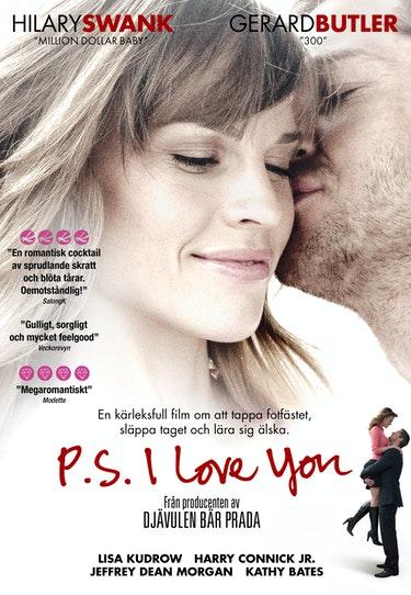 Filmen PS I love you med Hillary Swank och Gerard Butler.