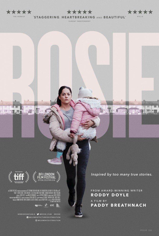 Filmen Rosie - om en familj som plötsligt blir hemlösa.