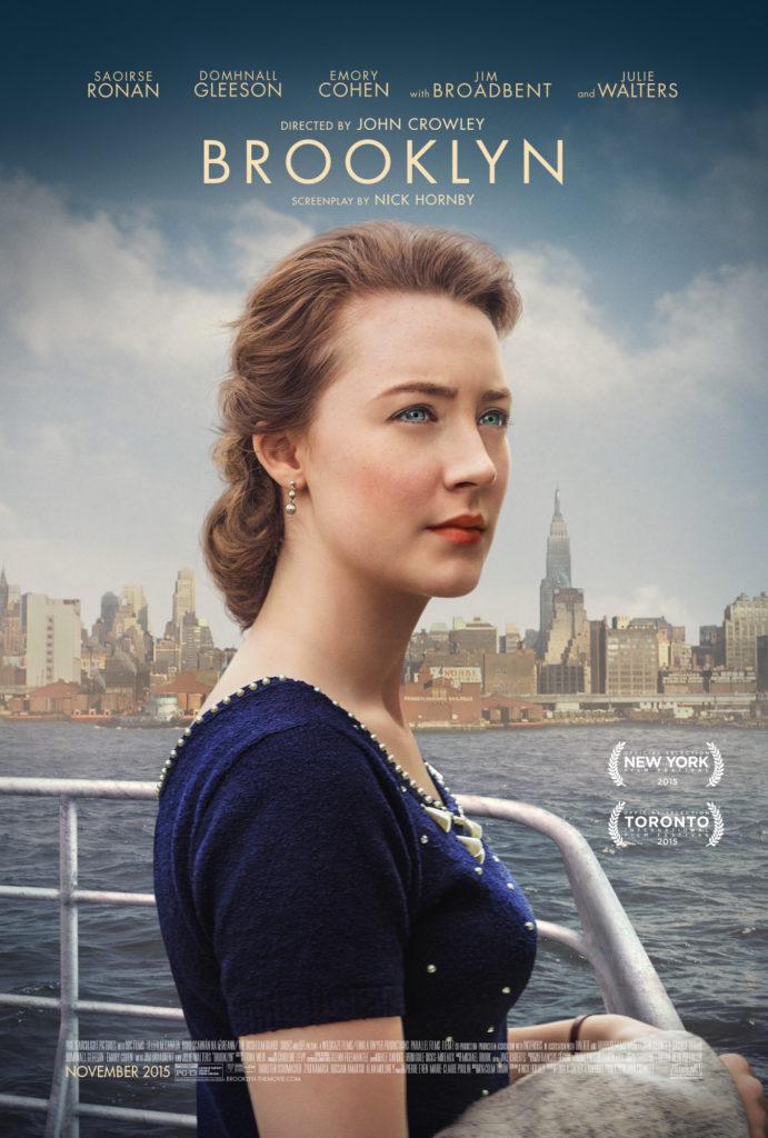 Filmen Brooklyn utspelar sig på 1950-talet i Irland och New York.