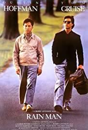 Filmen Rainman med Tom Cruise och Dustin Hoffman