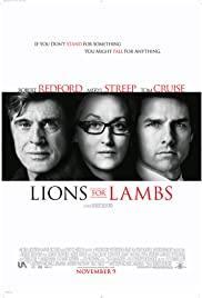 Filmen Lions for Lambs med Tom Cruise